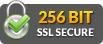 256bit ssl secured